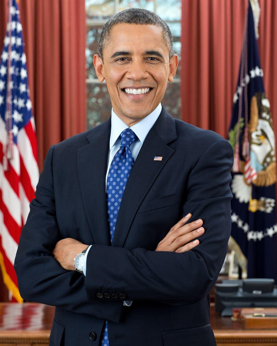 Barack Obama - 8 American Presidents that were left handed